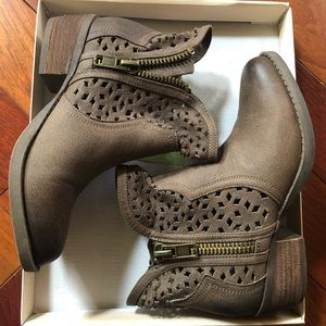 NWT Not Rated Etta Booties